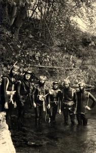 1962 - Erster Tauchgang an der Aachquelle